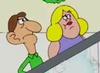 Escalator Couple