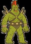 Green alien 1