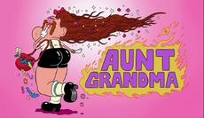 Aunt Grandma Title Card