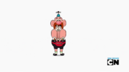 Uncle Grandpa and Belly Bag in Bad Morning Intermission 001