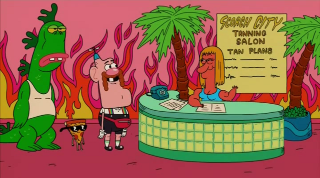 File:Uncle Grandpa, Belly Bag, Mr. Gus, and Pizza Steve in Tiger Trails 20.png