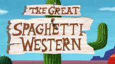 The Great Spaghetti Western Title Card