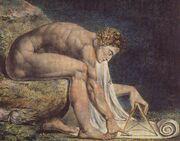 Newton by Blake