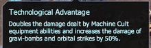 Technological advanage details