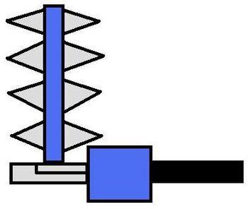 UnderFist Lair Robot(Shuriken Shooter)
