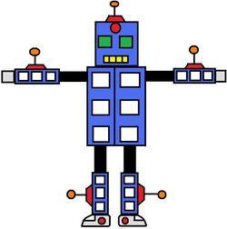 UnderFist Train Robot