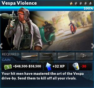 Job vespa violence