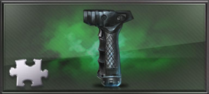 Item foregrip gun part