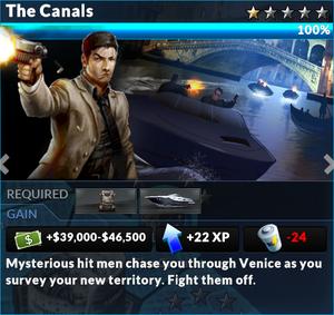 Job the canals