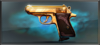 Item gold plated ppk