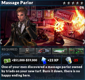 Job massage parlor