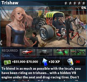 Job trishaw hong kong