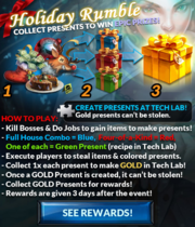 Event holiday rumble