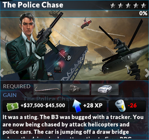 Job the police chase