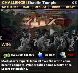 Job shaolin temple