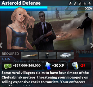 Job asteroid defense