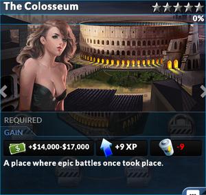 Job the colosseum