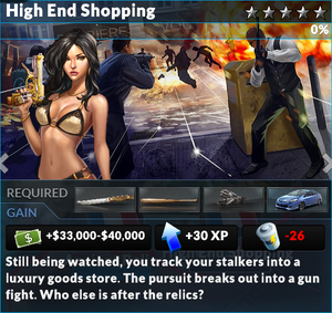 Job high end shopping