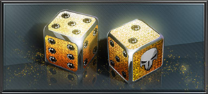 Item gold dice