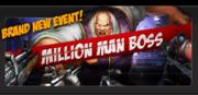 Event million man boss banner