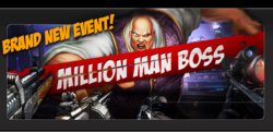 Event million man boss banner
