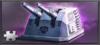 Item guided artillery turret