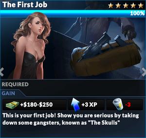 Job the first job