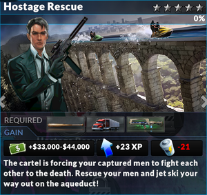 Job hostage rescue