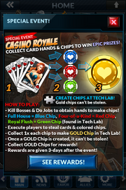 Event casino royale