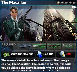Job the macallan