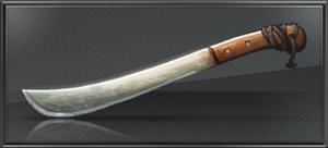Item rusty machete