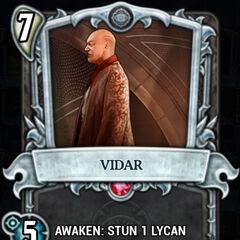 Vidar in Underworld card game