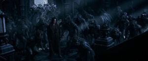Blood Wars Lycan army