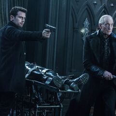 Thomas and David defending Selene in <i>Underworld: Blood Wars</i>