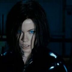 Selene after awakening from an induced coma.