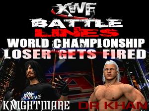 Battle Lines 2012 main event