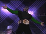 Human Tornado as Cruiserweight Champion