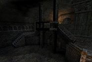 Staircase from Catacombs to Church