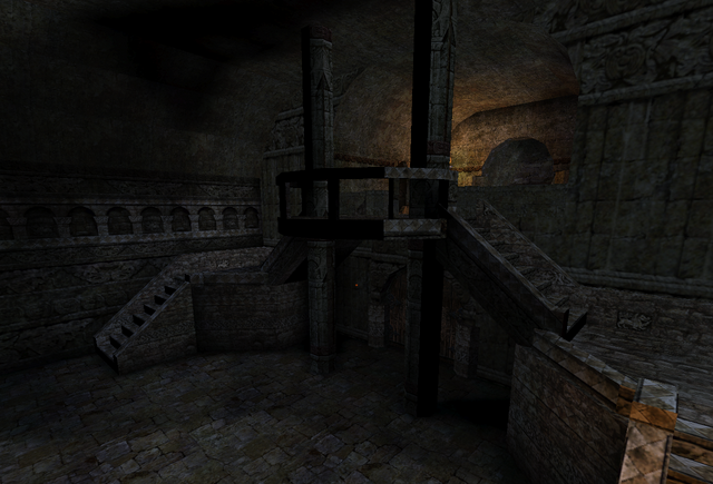 File:Staircase from Catacombs to Church.png