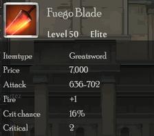 Fuego Blade