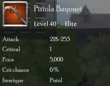 Pistola Bayonet