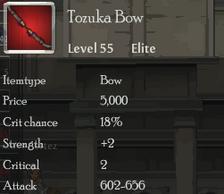 Tozuka Bow