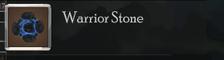 Warrior Stone
