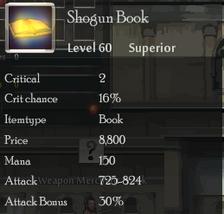 Shogun Book