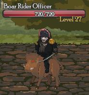 Boar Rider Officer