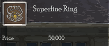 Superfine Ring