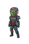 Gear-Tech Marine Helm E.VI and Tech Marine Suit E.VI Illustration 001