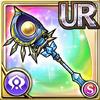 Gear-Silver Crescent Staff Icon