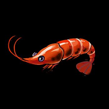 Gear-Grilled Shrimp Render