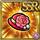 Gear-Rose Pillbox Hat Icon